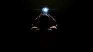 Savitar wields the Philosopher's Stone as a man