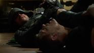 Derek Sampson and Green Arrow second fight (4)