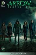 Arrow Season 2.5 chapter 9 digital cover