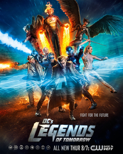 DC's Legends of Tomorrow season 1 poster - Fight For The Future.png
