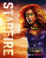 Titans - Starfire Poster