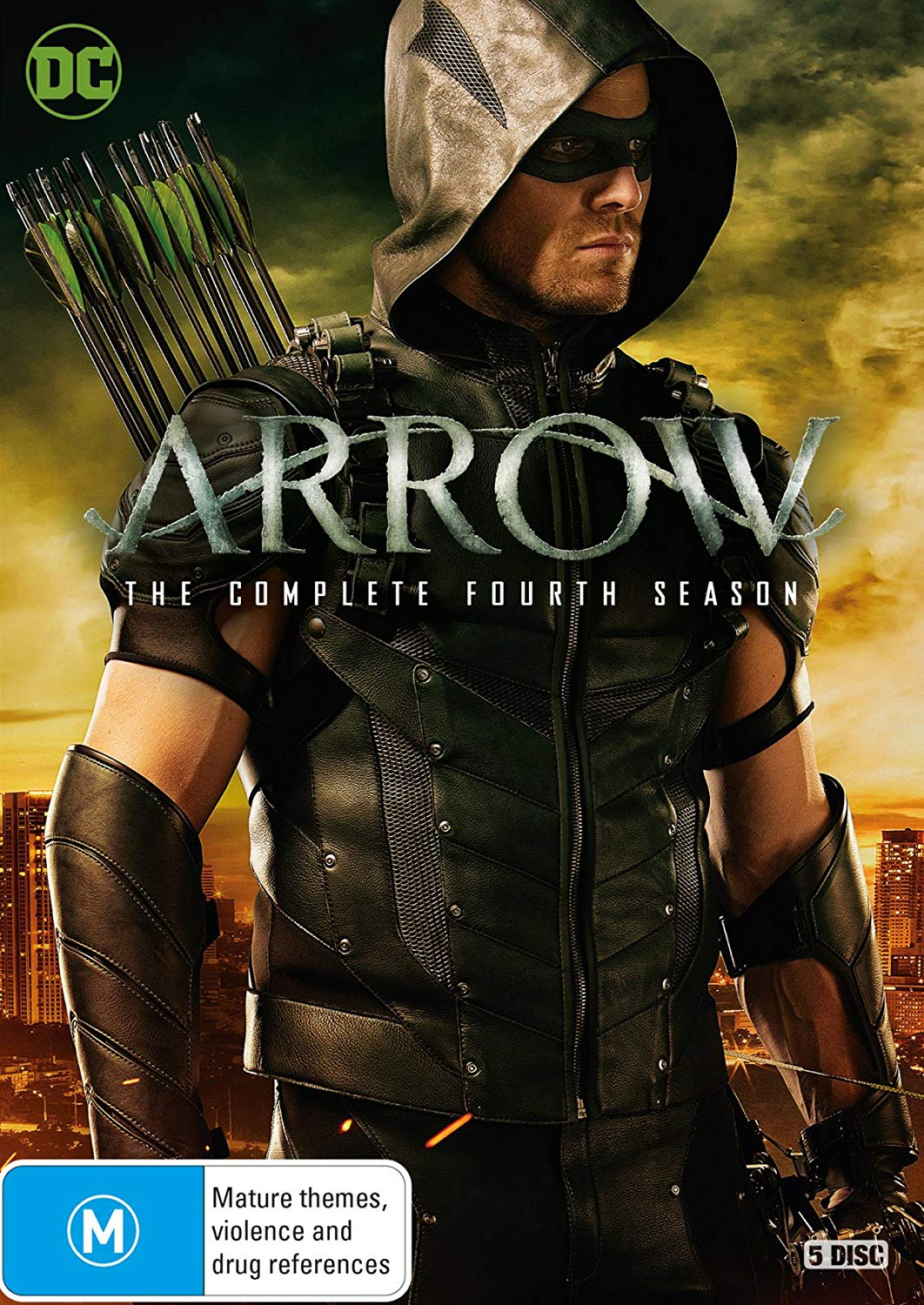 Arrow - The Complete Fourth Season region 4 cover.png