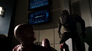 Black Flash and Flash fight in Speed Force (2)