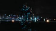 Savitar and Flash first time run in city (6)