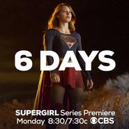 6 days until the Supergirl series premiere