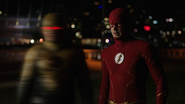 Barry and Eobard team up to fight Godspeed