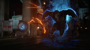Grodd fight The Flash and go to Earth-2 (13)