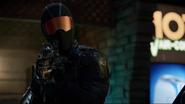 Vigilante and Team Green Arrow fight (1)