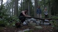 Slade% 2C Oliver and Sara bury Shado