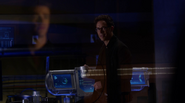 Harrison Wells (Earth-2) has met by Barry Allen in Christmas Dinner (3)