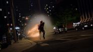 Barry Allen breaks the sound barrier