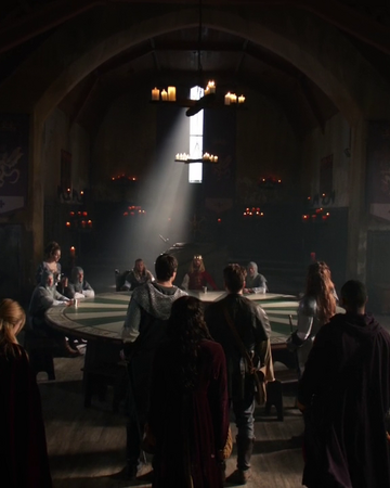 The Legends enter the court of Camelot.png