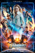 DC's Legends of Tomorrow season 4 poster - Get Ready to Do Some Time