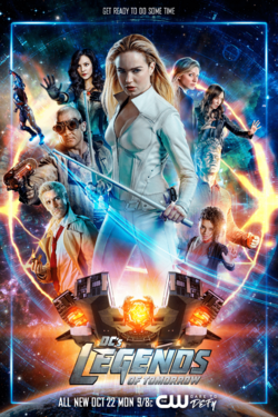 DC's Legends of Tomorrow season 4 poster - Get Ready to Do Some Time.png