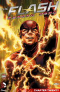 The Flash Season Zero chapter 20 digital cover