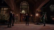 Damien Darhk stops Black Canary, Speedy and Green Arrow