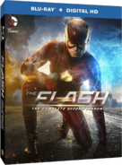 The Flash - The Complete Second Season region A cover