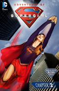 Adventures of Supergirl chapter 2 full cover