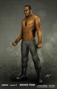 Bronze Tiger concept artwork