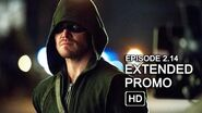 Arrow 2x14 Extended Promo - Time of Death HD