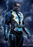 Jefferson Pierce as Black Lightning promotional image