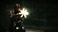 Vigilante and Team Green Arrow fight (3)