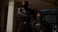 Vigilante and Green Arrow fight (4)