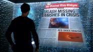 Harrison ogląda cyfrową gazetę