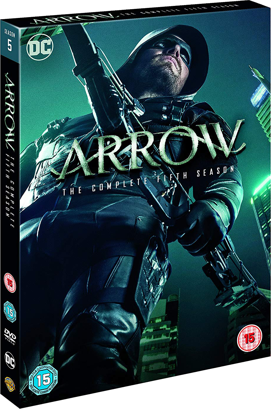 Arrow - The Complete Fifth Season region 2 cover.png