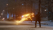 Kid Flash attack Music Meister