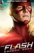 The Flash Season Zero chapter 23 digital cover