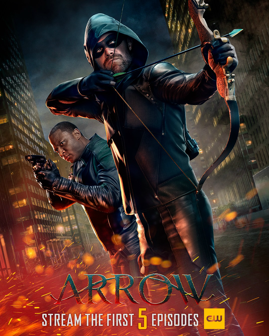 Arrow season 8 poster - Stream the First 5 Episodes.png
