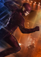 The Flash fight club poster