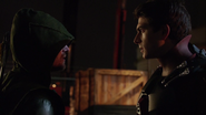Oliver tells Ray to trust Felicity