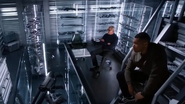 Jax and Stein talks about the message from Barry Allen