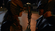 Hawkman and Hawkgirl resuce woman (9)