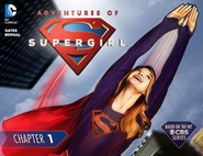 Adventures of Supergirl chapter 1 cover