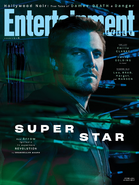 Arrow season 8 - Entertainment Weekly cover