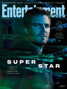 Arrow season 8 - Entertainment Weekly cover