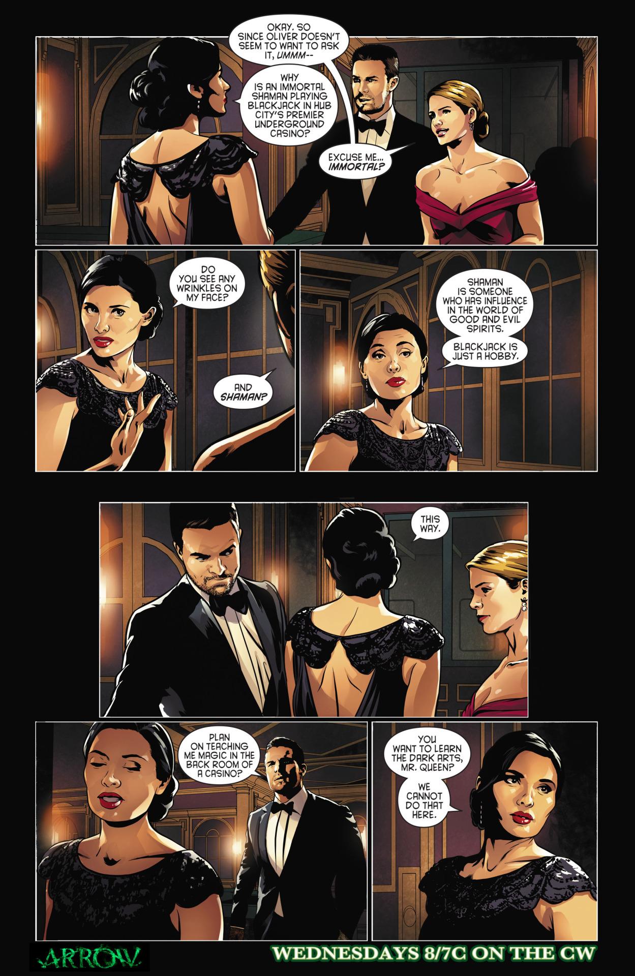 Arrow comic sneak peek - Genesis.png