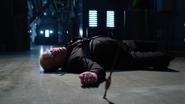 Damien Darhk fight Team Green Arrow and kill by Green Arrow (8)