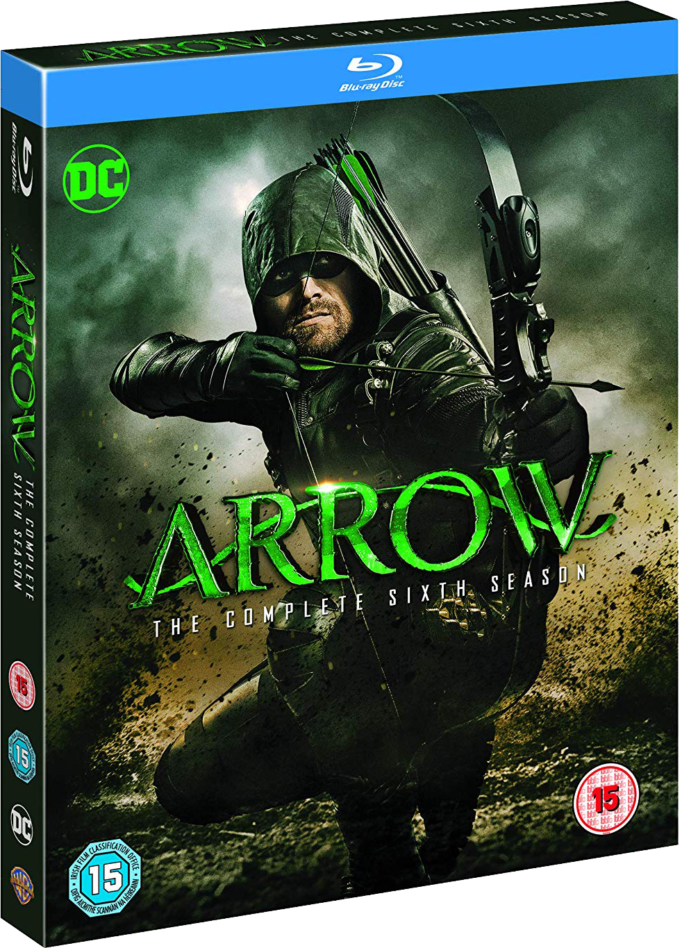 Arrow - The Complete Sixth Season region B cover.png