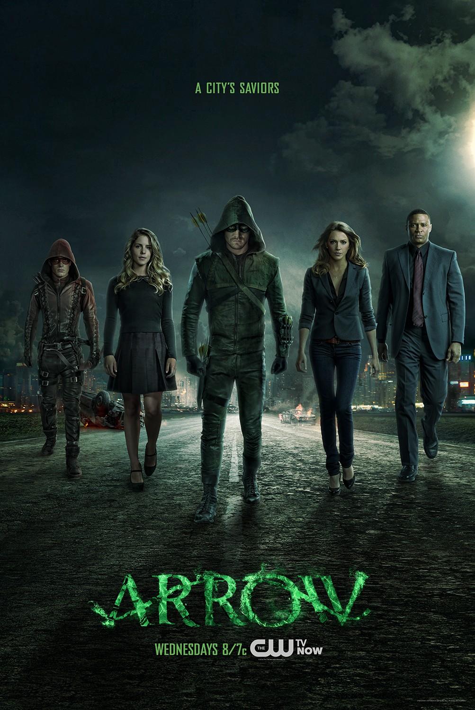 Arrow season 3 poster - a city's saviors.png