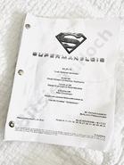 Superman & Lois script title page - Last Sons of Krypton