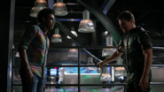 Curtsi Holt and Oliver Queen talk about hope