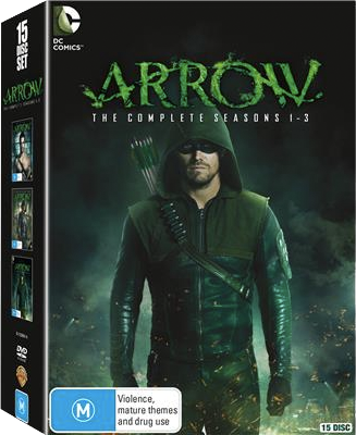 Arrow - The Complete Seasons 1-3 region 4 cover.png