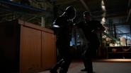 Derek Sampson and Green Arrow second fight (2)