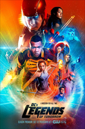 DC's Legends of Tomorrow season 2 poster - A Mission For All Time