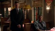 Rob Scott asecuring Oliver to Big Belly Burger (2)