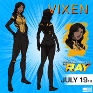 Vixen - Freedom Fighters The Ray promotional image